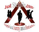 just steppin logo image